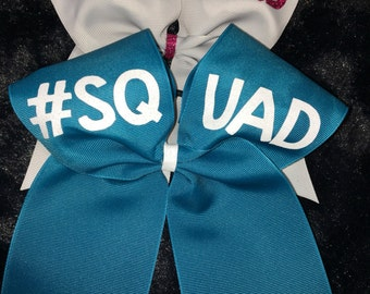 SQUAD Cheer Bow