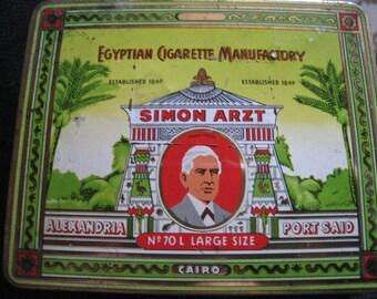 Simon Arzt cigaretten tin - No. 70 L large type I.