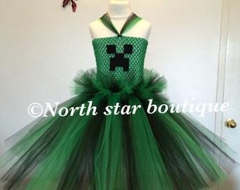 Minecraft tutu dress
