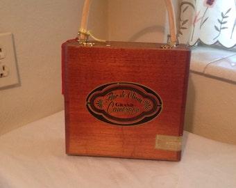 COOL cigar box purse