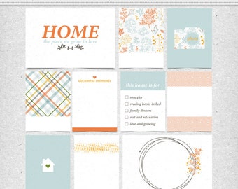 At Home- Journal Cards