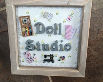 Sewing hobby frame personalised