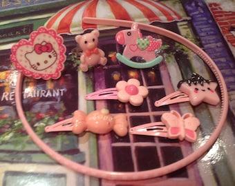 Fairy Kei 1970s/80s Jewellery Set