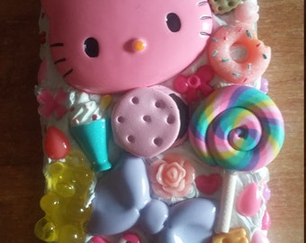 Decoden phone case iphone 5/5s - HELLOKITTY