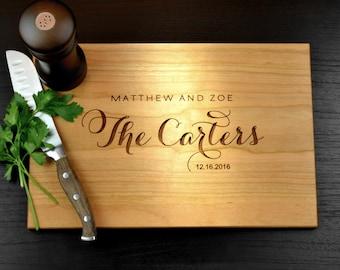 Personalized Cutting Board Custom Cutting Board Personalized Wedding gift Cutting Board Personalized Engraved Cutting Board Wedding Cutting