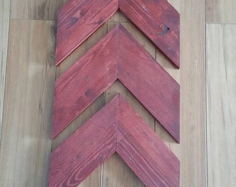 Set of 3 Chevron Arrows (large)
