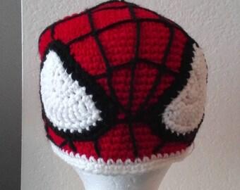 Childrens Spiderman Hat