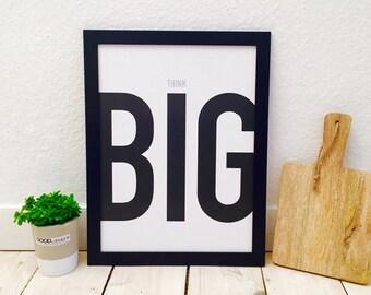 Poster think big