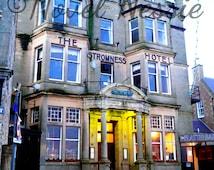 Digital download photography Digital printable art Printable photography Travel Photographs The Stromness Hotel Orkney Scotland