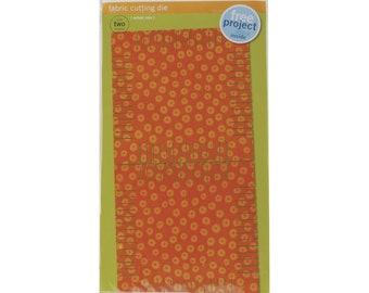 Accuquilt fabric Cutter fringed 55033, square, approximately 13 cm