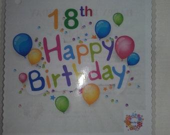 18th Birthday survival kit