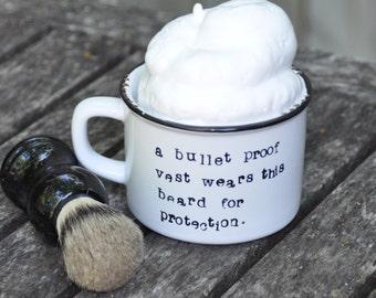 Shave bowl shaving bowl wet shaving mug shaving cup shaving soap shaving kit shaving set shave kit gift for men shave set funny mug