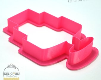 Cake on Stand Cookie Cutter, 3d Printed