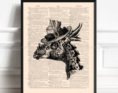 Dinosaur Poster, Dinosaur On The Wall, Gifts For Girlfriend, College Room Wall, Cool Dinosaurs, Funny Home Art, Funny Animal Decor 010