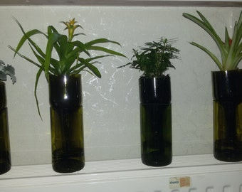 flowerpot from bottle