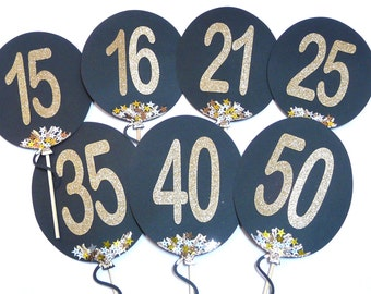 Photo Booth Props - 1PC Custom Birthday Balloon Prop