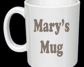 Mug Personally Printed