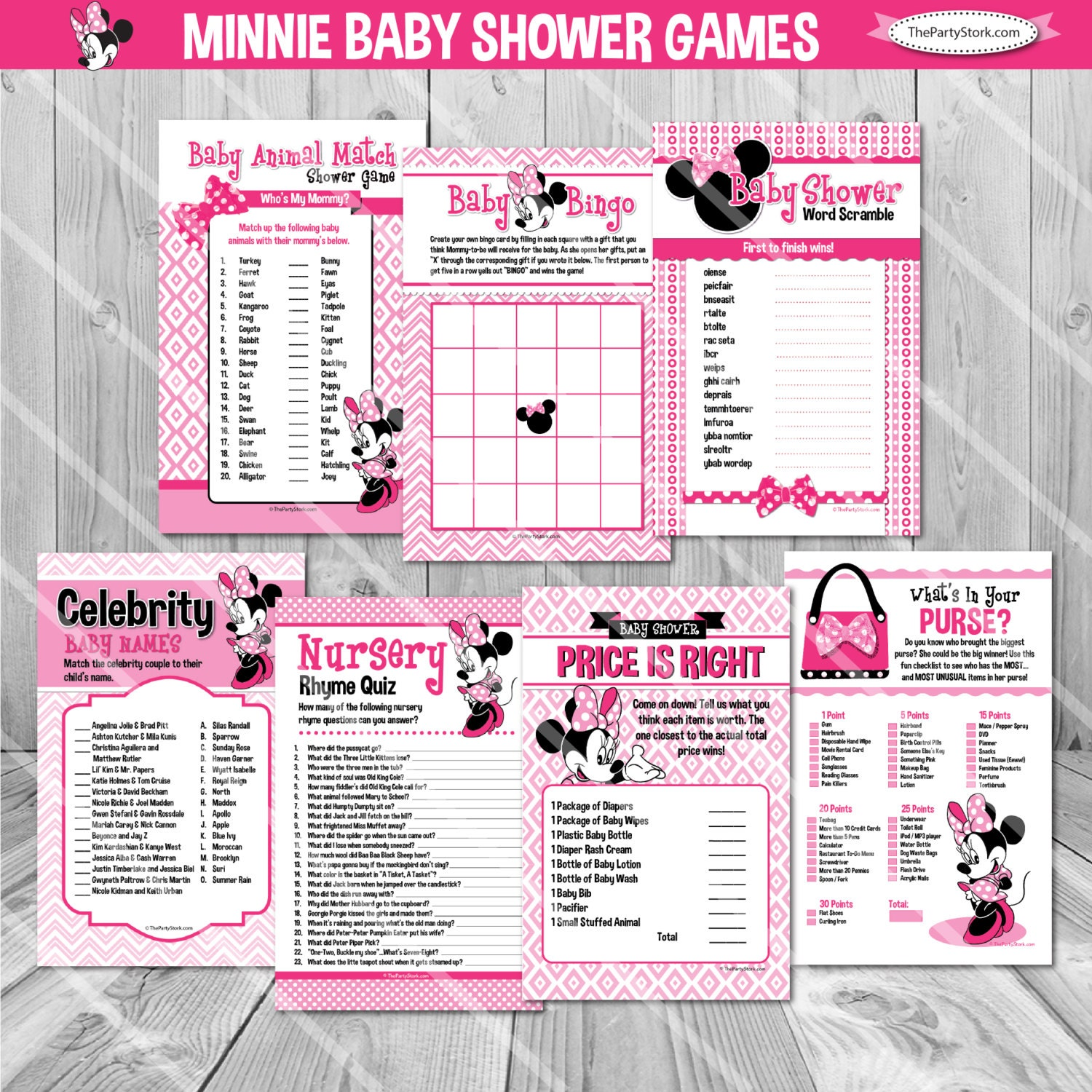 minnie mouse baby shower games minnie mouse baby shower