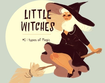Digital Download - Little Witches #1 Types of Magic