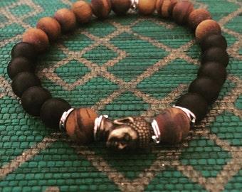 Buddha men's bracelet