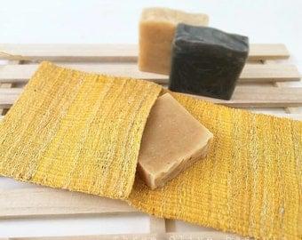 100% Natural Silk Washcloth