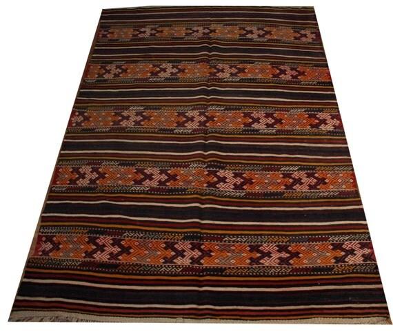 Items Similar To Kilim Rug Area Rug Turkish Rug Navajo Rug
