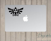 The legend of Zelda Sticker For Macbook, Laptop, Vinyl Decal, Cars Decal