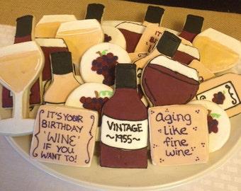 Wine Lovers Sugar Cookies