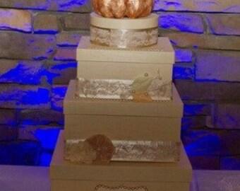 Fall wedding card box