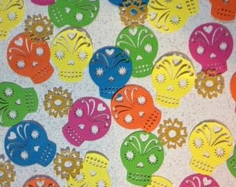 Day of the Dead Skull Confetti