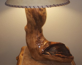 Aspen Log Lamp