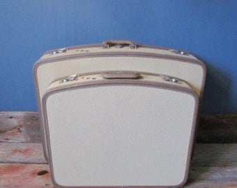 1940's Vintage Luggage Set (Reduced Price)
