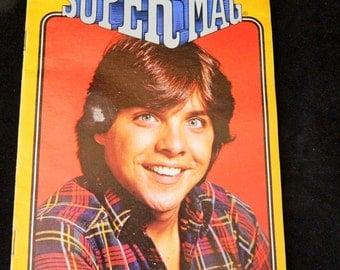 Vintage 1982 Super Mag Teen Magazine Mr. Merlin, Clark Brandon, Mt. Rushmore
