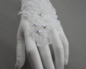 lace wedding bracelet