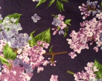 Georgeous Fresh Lilacs Fabric As Seen in Keepsake Catalog - MAS8600-V BTY