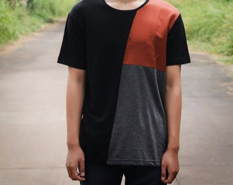 Mens T shirt- Mens fashion,T shirt for men, Mens clothing, Mens Casual, Burning Man Clothing, handmade, Mens Clothes,summer tshirt