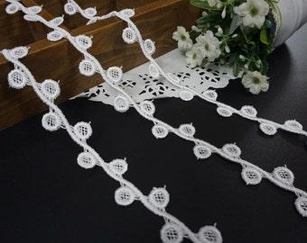 White Lace Trim 5m x 1.8cm