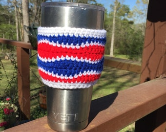 Red White & Blue Cozy for a Yeti