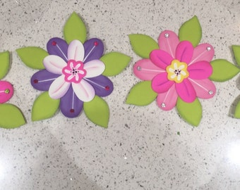 Decorative foam flowers