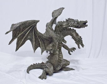 "Decoration figure ""5-headed dragon"" (Dragon)"