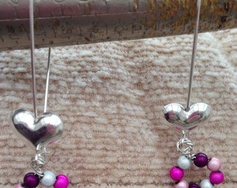 Sterling silver and miracle beads
