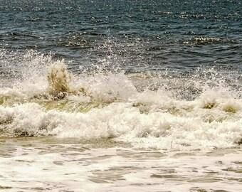 Sun Glistened Wave