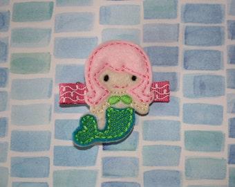 Mermaid Hair Clip/Mermaid Clippie