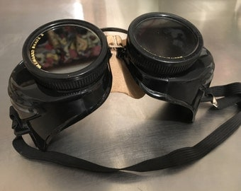 Steampunk Torch goggles
