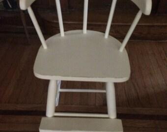 Antique child high chair