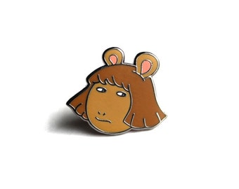 "DW ""Side-Eye"" Pin"