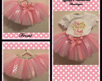 Pretty as a princess tutu Bow Set