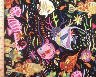 Alexander Henry Fabrics    Deep Sea