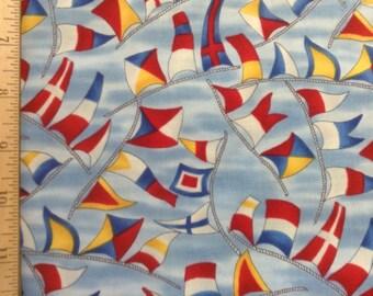 Hoffman Fabrics     Ships Ahoy