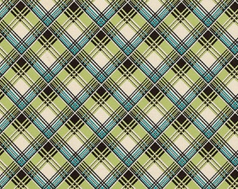 "Denyse Schmidt  ""Ansonia""  Corner Plaid  Mossy  FreeSpirit"